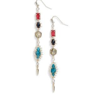 🆕 Kendra Scott Leandra Linear Drop Earrings